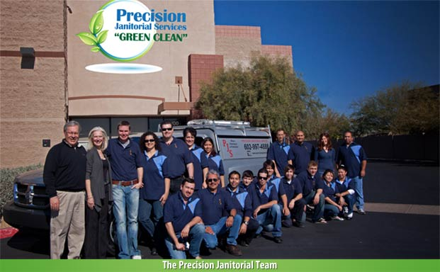 The Precisions Janitorial Team